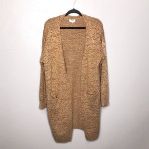 Umgee Knit Rust Orange Duster Long Cardigan G6